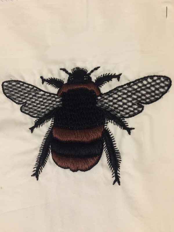 Bumble Bee Thread Work
