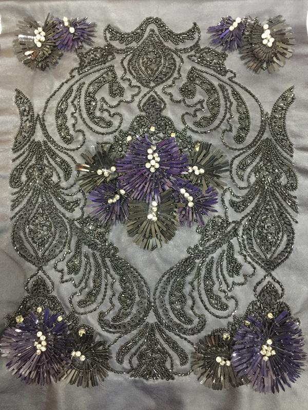 motif sequins work