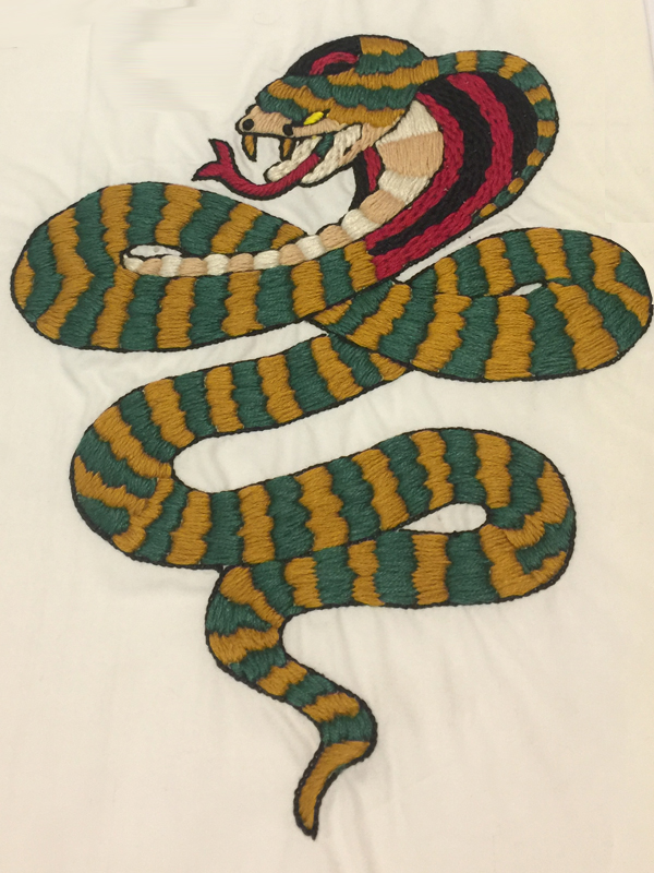 Serpent Thread Work