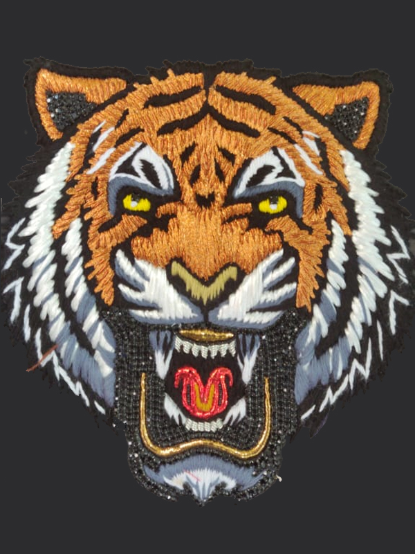 Growling Tiger Thread Work