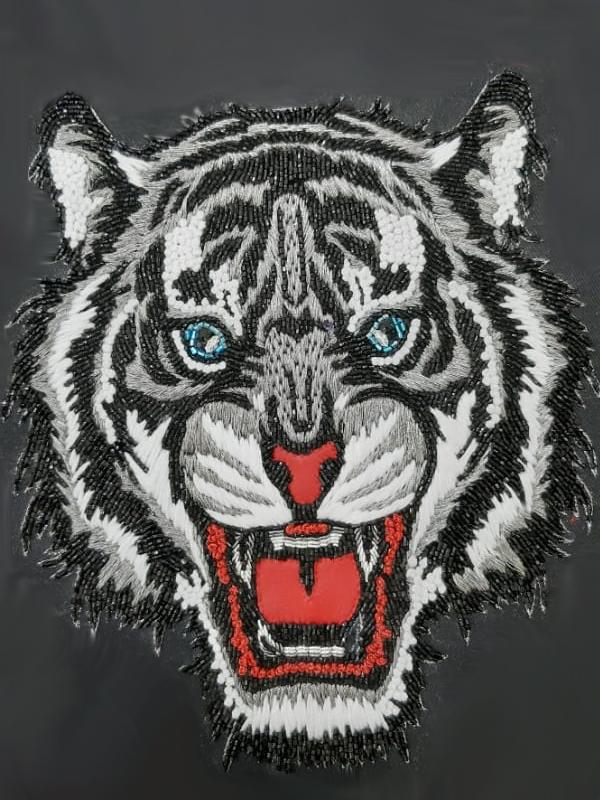 White Tiger Thread Work